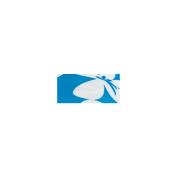 Mini Duck Tape .190cm Wide 15' Roll-Blue Flower
