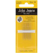 Chenille Hand Needles-Size 24 6/Pkg