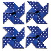 Pinwheel Stickers 4/Pkg-Blueberry Bliss