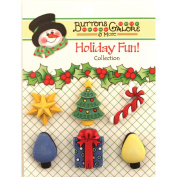 Holiday Buttons-Good Tidings