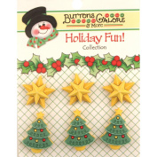 Holiday Buttons-Star Of Wonder
