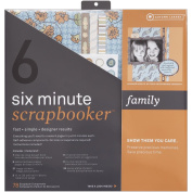 Minute Scrapbooker 6-Minute Page Kit 30cm x 30cm -Family