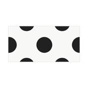 Thank You Cards & Envelopes 8/Pkg-Midnight Black Decorative Dots