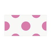 Thank You Cards & Envelopes 8/Pkg-Hot Pink Decorative Dots