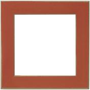 Wooden Frame 20cm x 20cm -Rust