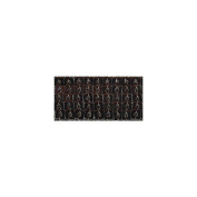 Square Sequin Trim 40mm X 15.95 Yards-Dark Brown