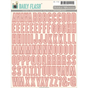 Daily Flash Vol. 1 Alpha Stickers-Shop Front Strawberry Ice Cream