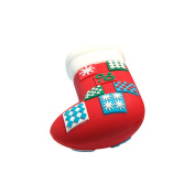 Novelty USB Ports W/2GB Storage-Quilted Christmas Stocking