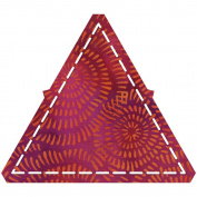 Go! Fabric Cutting Dies-Equilateral Triangle-10cm - 0.6cm Sides