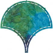 Go! Fabric Cutting Dies-Clamshell 20cm