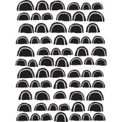 Joggles Stencil 23cm x 30cm -Scalloped Rows