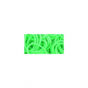 Loom Bands Value Pack 525/Pkg-Glow In The Dark Green