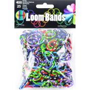 Loom Bands Assortment 425/Pkg-Camo Tie-Dye
