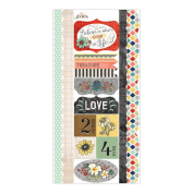 Chamberry Cardstock Stickers-Good Life