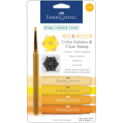 Mix & Match Gelatos & Clear Stamp Set-Yellow