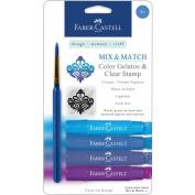Mix & Match Gelatos & Clear Stamp Set-Blue