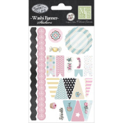 The Sweet Life Washi Stickers 10cm x 15cm -Banner