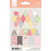 Twirly Girl Mini Stickers 10cm x 15cm -Banners