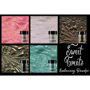 Lindy's Stamp Gang 2-Tone Embossing Powder .150ml 5/Pkg-Sweet Treats