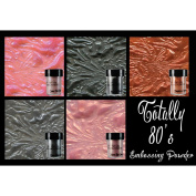 Lindy's Stamp Gang 2-Tone Embossing Powder .150ml 5/Pkg-Totally 80's