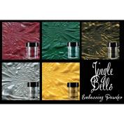 Lindy's Stamp Gang 2-Tone Embossing Powder .150ml 5/Pkg-Jingle Bells