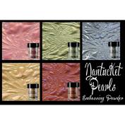 Lindy's Stamp Gang 2-Tone Embossing Powder .150ml 5/Pkg-Nantucket Pearls