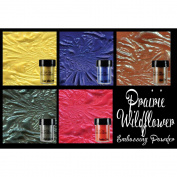 Lindy's Stamp Gang 2-Tone Embossing Powder .150ml 5/Pkg-Prairie Wildflowers