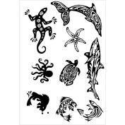 Stencil Transfer Pack-Marine Life