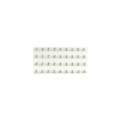 Eyelet Outlet Bling Self-Adhesive Jewels, 5mm, Clear, 100-Pack Multi-Coloured