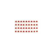 Bling Self-Adhesive Jewels 5mm 100/Pkg-Red