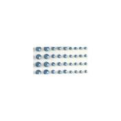 Bling Self-Adhesive Jewels Multi-Size 100/Pkg-Blue