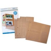Fotomatr Fold-Out Binder Pages 20cm x 27cm 2/Pkg-