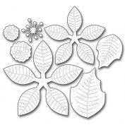 Die-Namics Die-Poinsettia, 6.6cm To 8.6cm