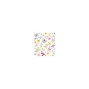 Multicoloured Stickers-Batik Butterflies