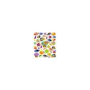 Multicoloured Stickers-Reef Fish