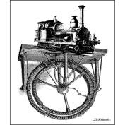 LaBlanche Silicone Stamp 10cm x 11cm -Train