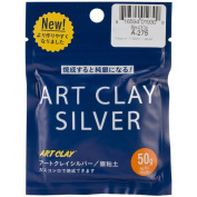 Art Clay Silver 650/1200 Low Fire Clay-50 Grammes