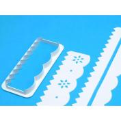 Frill Cutter 1/Pkg-Straight