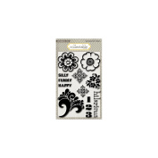 Collectable Notable Clear Acrylic Stamps-Silly