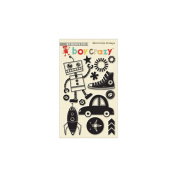 Boy Crazy Clear Acrylic Stamps