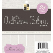Specialty Stack 15cm x 15cm 24/Pkg-Adhesive Fabric