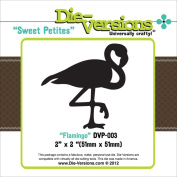 Die-Versions Sweet Petites Die-Flamingo, 5.1cm x 5.1cm
