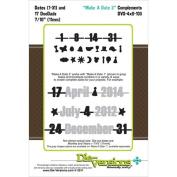 Die-Versions Complements Die-Make A Date 2, 10cm x 15cm
