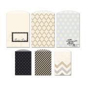 Etcetera Decorative Bags 6/Pkg