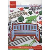 Marianne Design Creatables Dies-Wooden Garden Bench, 8.9cm x 5.1cm