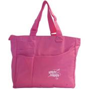 "Stitch Happy Bright Bag 38cm x 33cm X4""-Pink"
