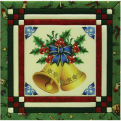 Christmas Bells Photo Quilt Magic Kit-30cm x 30cm