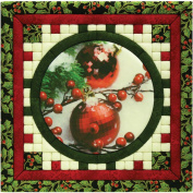Christmas Ornaments Photo Quilt Magic Kit-30cm x 30cm