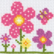 1st Kit Sarah Counted Cross Stitch Kit-10cm x 10cm 8 Count