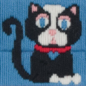 1st Kit Roberta Long Stitch Kit-10cm x 10cm 12 Count Canvas Stitched In Wool